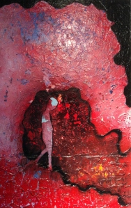 4- HEM-Vague de réflexion-2013-acrylique et technique mixte-toile- 30x48,1500 (vendu).jpg