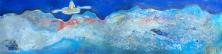 1-Révérencieux, HEM, 2016, Acrylique et mixtes, 60''X15'', 1125$